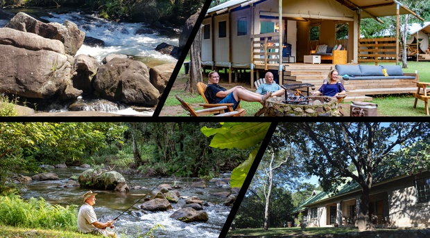 Mackers has much to offer when getting back to nature, river hikes, fishing, bird watching and much more